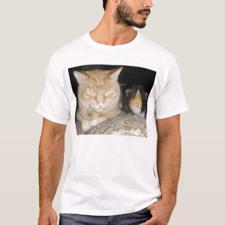Camiseta Gato e cobaia