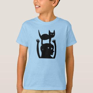 Camiseta Gato em minha cabeça