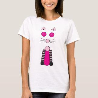 Camiseta Gato extravagante