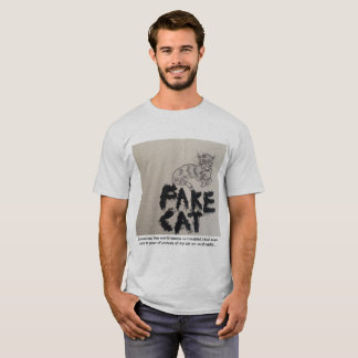 Camiseta Gato falsificado