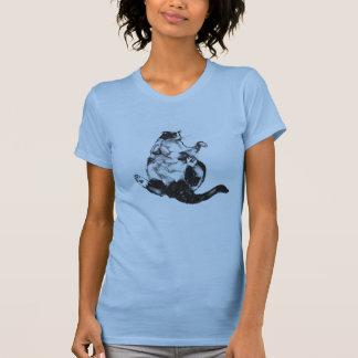 Camiseta gato gordo