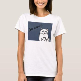 Camiseta Gato impertinente