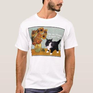 Camiseta Gato impertinente de Van Gogh