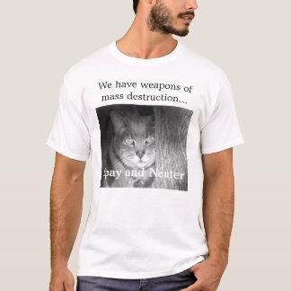 Camiseta Gato internacional de Riley do mistério