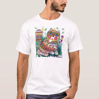 Camiseta gato mágico do primavera