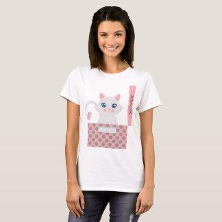 Camiseta Gato na caixa