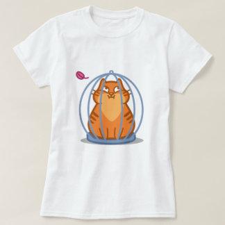 Camiseta Gato na gaiola