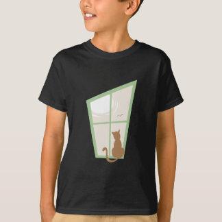 Camiseta Gato na janela