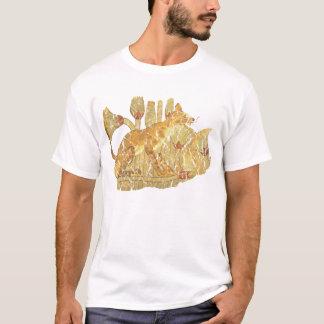 Camiseta gato no pântano