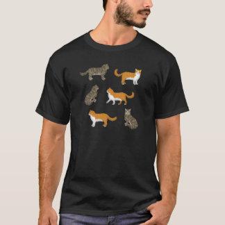 Camiseta Gato norueguês de bosque selecção