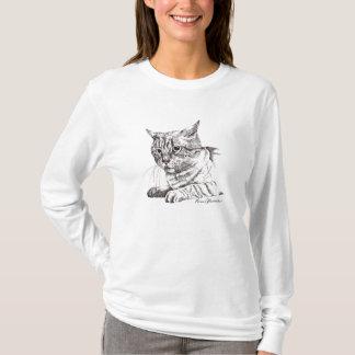 Camiseta Gato, perturbed