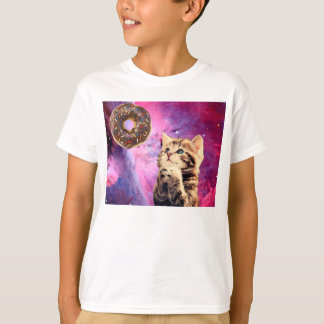 Camiseta Gato Praying da rosquinha