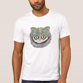 Camiseta Gato psicadélico de Cheshire