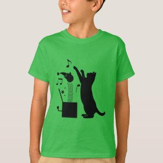 Camiseta Gato que joga com Jack in the Box