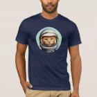 Camiseta Gato retro do espaço
