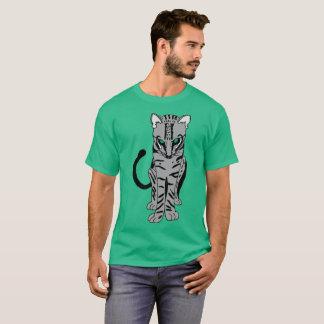Camiseta Gato selvagem