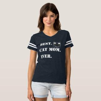 Camiseta Gato sempre branco do amor da família da mamã do