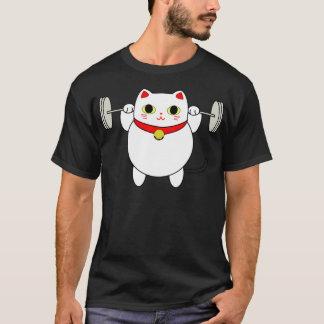 Camiseta Gato Squatting de Maneki Neko