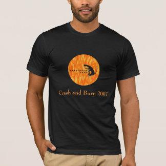 Camiseta Gatos balísticos, impacto e queimadura 2007