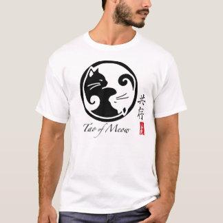 Camiseta Gatos de Yin Yang   Tao do T dos homens do Meow