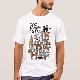 Camiseta Gatos demais