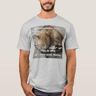 Camiseta Gatos desabrigados