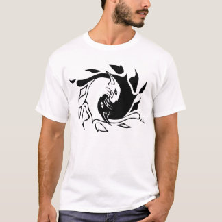 Camiseta Gatos do zen
