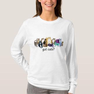 Camiseta gatos obtidos? t-shirt