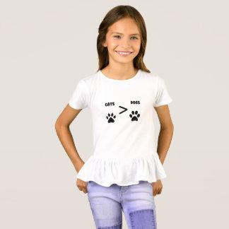 Camiseta Gatos ou cães