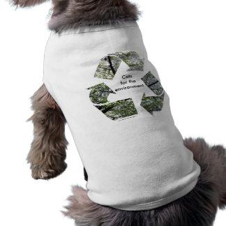 """Camiseta """"Gatos para t-shirt do gato do ambiente"""""""