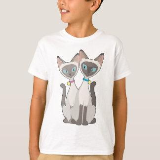 Camiseta Gatos Siamese