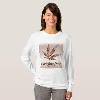 Camiseta GAV 420 edição húmido T L-Sleeved pelo