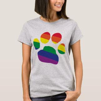 Camiseta Gay-Orgulho-Pata-Impressão