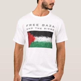 Camiseta Gaza livre - termine o cerco