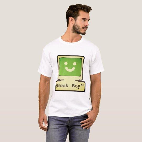 Camiseta geek boy