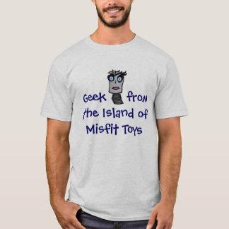 Camiseta Geek do brinquedo do desajuste