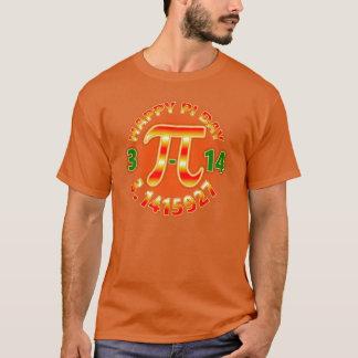 Camiseta Geek do dia do Pi dos homens