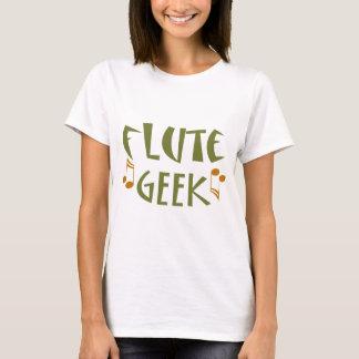 Camiseta Geek engraçado da flauta
