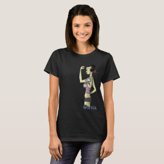 Camiseta Geek feminina  019