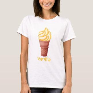 Camiseta Gelado da baunilha - t-shirt