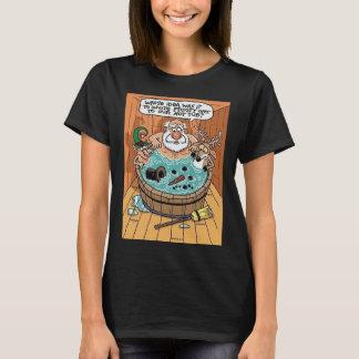 Camiseta Gelado em uma banheira de hidromassagem