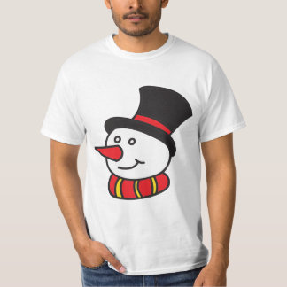 Camiseta Gelado o t-shirt do boneco de neve