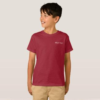 Camiseta Geléia t-shirt vermelho/roxo de 2,0 (meninos)