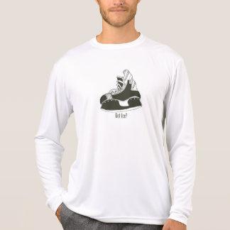 Camiseta Gelo obtido? Skate Longsleeve Microfiber do hóquei