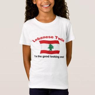 Camiseta Gêmeo libanês - o bonito