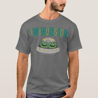 Camiseta Gêmeos da alienígena de TWINVASION