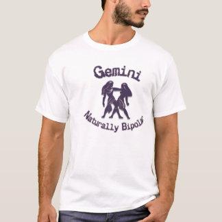 Camiseta Gêmeos:  Naturalmente bipolar