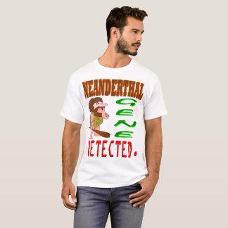 Camiseta Gene do Neanderthal detectado