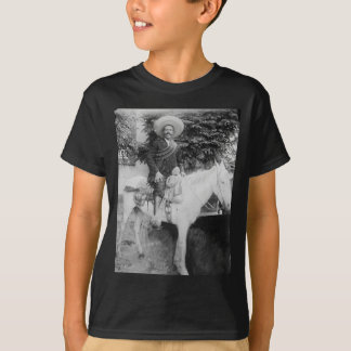 Camiseta General revolucionário mexicano de Pancho Villa