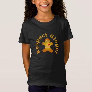 Camiseta Gengibre do respeito que não respeitaria o